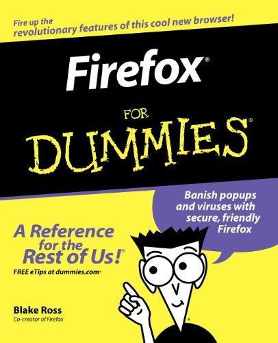 Firefox For Dummies