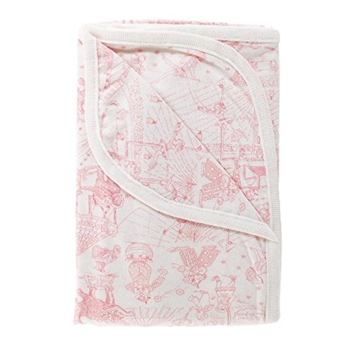 BigKitchen Amy Coe Limited Edition Pink Circus Toile Baby Blanket (Amy Coe Baby Blankets)
