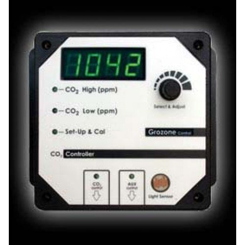 Controller Ppm Co2 (Grozone CO2 Controller 0-5000ppm)