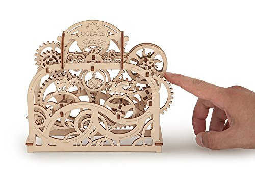 S.T.E.A.M. Line Toys UGears Models 3-D Wooden Puzzle - Mechanical Theater from S.T.E.A.M. Line Toys