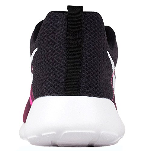 Nike Jr Rosherun Flight Weight Gs - Zapatillas Unisex Niños pink - black - white
