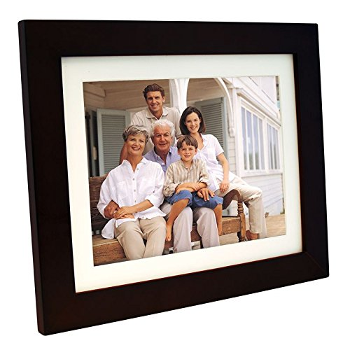 Panimage PI1002DW 10.4-Inch Digital Picture Frame (Espresso)