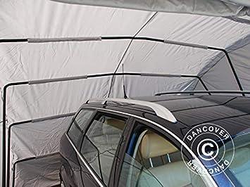 Dancover Garaje Plegable (Coche), 2,6x5,8x2,1m, Gris: Amazon.es: Jardín