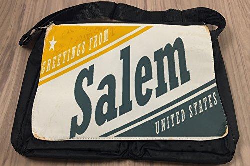 Borsa Tracolla Viaggi Cucina Salem USA Stampato