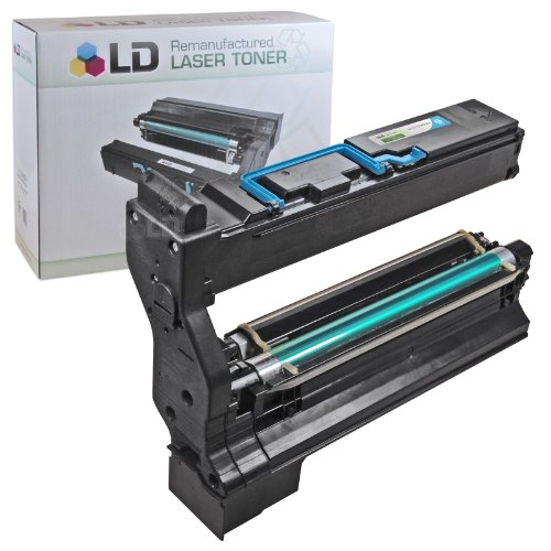 004 Laser Toner Cartridge (LD Konica Minolta MagiColor 5430 DL & 5450 Compatible 1710580-004 Cyan Laser Toner Cartridge)