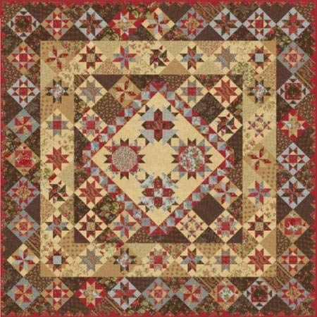 - Moda Rosewood Quilt Kit by 3 Sisters KIT44180
