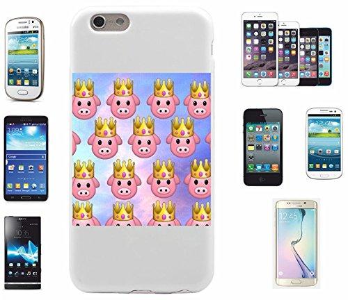 """Smartphone Case Apple IPhone 7+ Plus """"Schweinchen mit Krone und Glücklichem Gesicht Süß"""", der wohl schönste Smartphone Schutz aller Zeiten."""