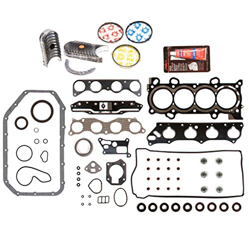 - Evergreen Engine Rering Kit FSBRR4041EVE\0\0\0 Fits 03-06 Honda Accord Element 2.4 DOHC K24A4 Full Gasket Set, Standard Size Main Rod Bearings, Standard Size Piston Rings