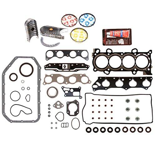 - Evergreen Engine Rering Kit FSBRR4041EVE\0\0\0 Fits 03-06 Honda Accord Element 2.4 DOHC K24A4 Full Gasket Set, Standard Size Main Rod Bearings, Standard Size Piston Rings
