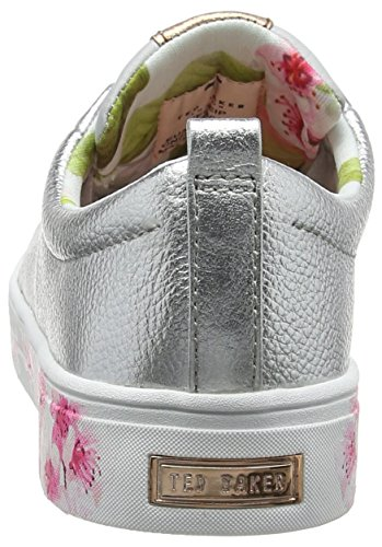 Baker Silver Sneaker Argento Kelleip Donna Blossom Ted 8wqxOaHq
