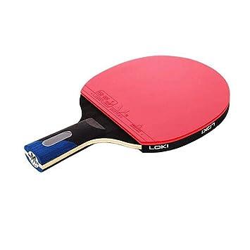 KUANDARPP Raqueta De Tenis De Mesa Ping Pong (Raqueta Individual + ...
