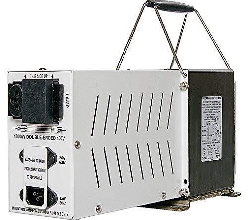 Hydrofarm SGO100DE, 1000W 120/240V Convertible, White Ballast