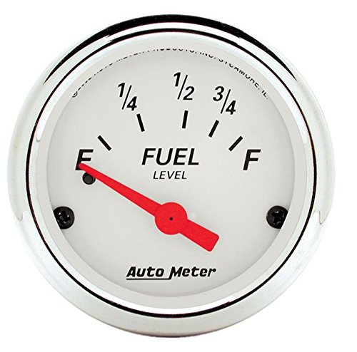 Autometer 1316 Arctic White Series Fuel Level Gauges