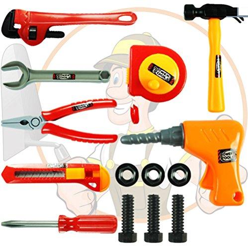 Dongcrystal DIY Repair Kids Tools Toys Set - Engineering Repair Tools Set