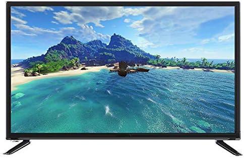 Lazmin Multifuncional 43 Pulgadas LCD TV Smart HD 4K Edición en línea, WiFi inalámbrico/HDMI/AV/USB / RJ45 / Ordenador/Entrada de Audio para Auriculares Negro(Enchufe de la UE): Amazon.es: Electrónica