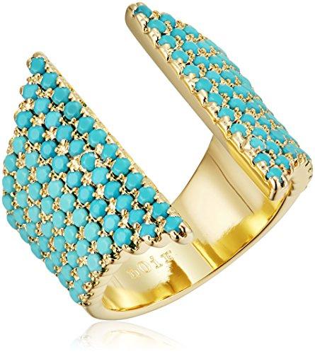 Noir Jewelry Natatorial Ring, Size ()