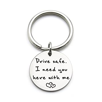 Amazon.com: XYBAGS Drive Safe I Need You Here with Me, nuevo ...