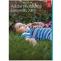 Adobe Photoshop Elements 2018 | Standard| PC/Mac | Disque