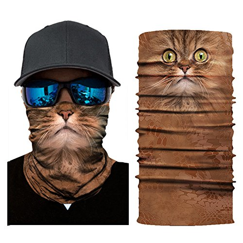 FEDULK 3D Animal Funny Balaclava Face Mask Outdoor Cycling Motorcycle Skiing Snowboarding Head Scarf(E) by FEDULK (Image #1)