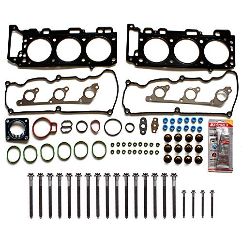 ECCPP Engine Head Gasket Set w/Bolts fit 04-11 Ford Explorer Sport Trac SOHC Land Rover LR3 SOHC Mazda B4000 SOHC Mercury Mountaineer SOHC Compatible fit for Gaskets Kit