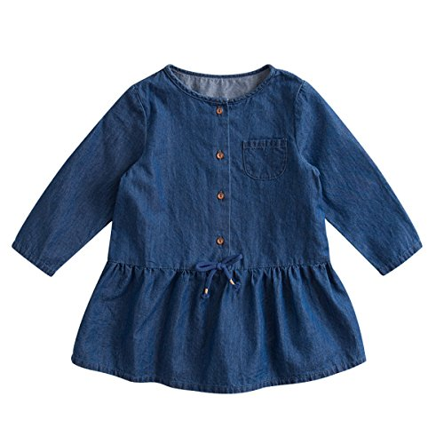 next baby denim dress - 8