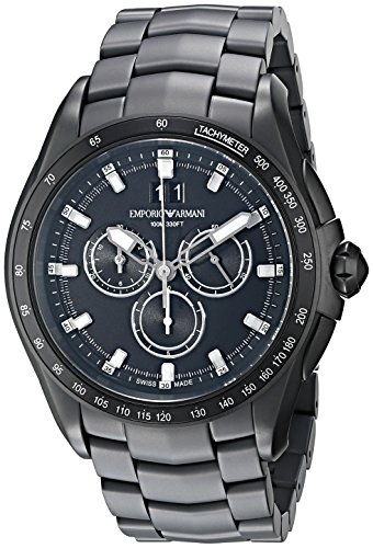 Emporio-Armani-Swiss-Made-Mens-Quartz-Stainless-Steel-Dress-Watch-ColorBlack-Model-ARS9105