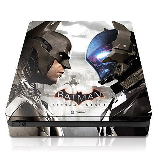 "Controller Gear Batman Arkham Knight ""Face Off"" - PS4 Slim Console Skin - Officially Licensed"