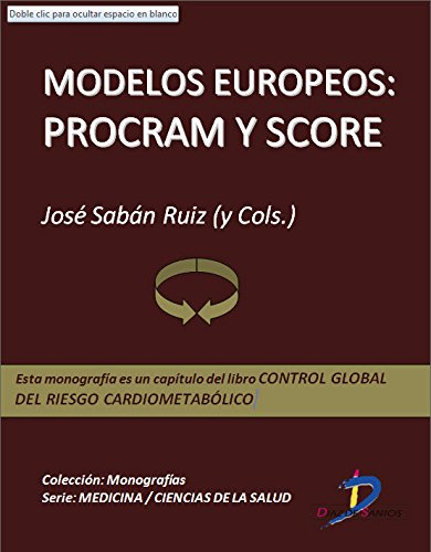 Descargar Libro Modelos Europeos: Procram Y Score : 1 José Sabán Ruiz