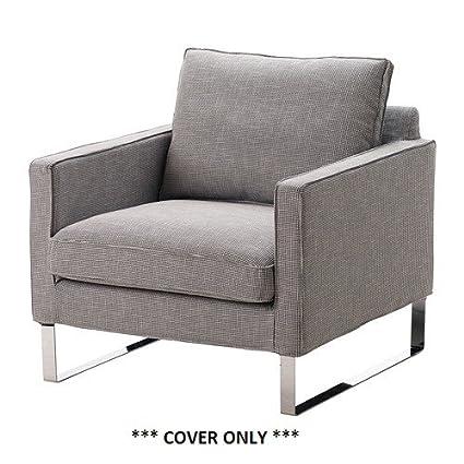 IKEA Mellby - Cubierta para sillón, Eldris Negro Blanco ...