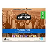 Martinson Single Serve Coffee Capsules, Variety Pack, 36 Count