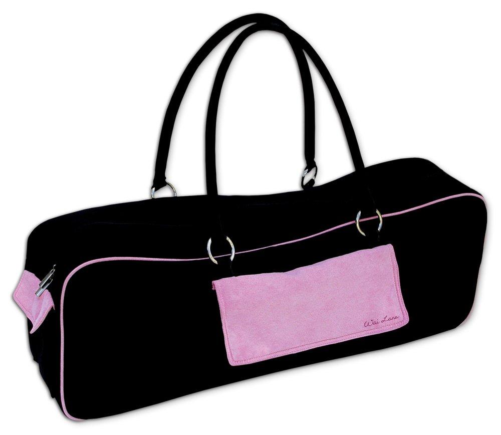 Wai Lana Yoga Urban Tasche Black with Pink 220