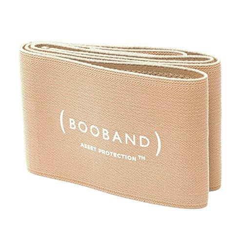 Booband cinta de apoyo ajustable para el pecho, sujetador deportivo alternativo Beige