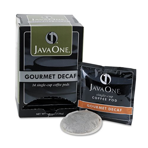 Java One 30210 Single Cup Coffee Pods, Columbian Decaf (JAV30210) Category: (14 Single Serve Coffee Pods)