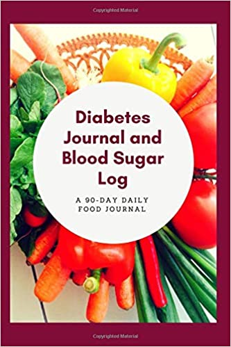 diabetes journal and blood sugar log 90 day daily food tracker