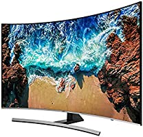 Samsung 65 Inch Premium UHD Curved Smart TV UA65NU8500KXZN - Series 8 - Multi Color