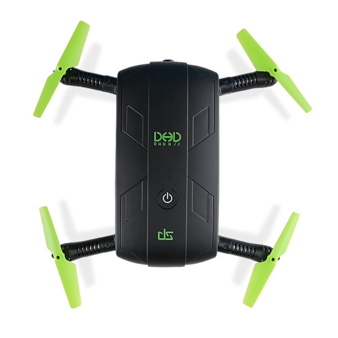 Drone, JJRC DHD D5 pieghevole RC Quadcopter 30W WiFi FPV telecamera di controllo della presa di altezza Mini UFO giocattoli per bambini