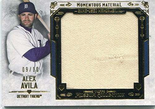 (2015 Topps Museum Collection Momentous Material Jumbo Relic Gold Alex Avila 3/35 )