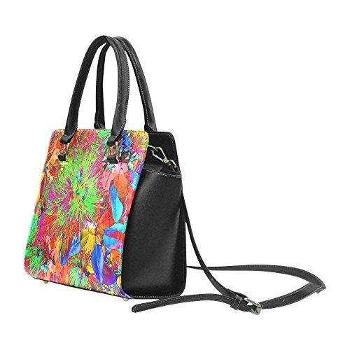 2204650a498a Interestprint Custom Pohutukawa NZ Bloom- Pop ART Classic Women Top Handbag  Shoulder Bag  Handbags  Amazon.com