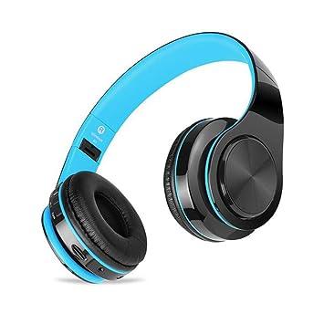 CHUANGER Auriculares inalámbricos Plegables/Bluetooth música ...
