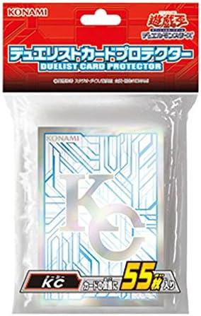 遊戯王 日本語版 デュエリストカード プロテクター 『KC』 55枚入り カード スリーブ