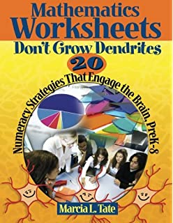 Worksheet Worksheets Don T Grow Dendrites worksheets dont grow dendrites 20 instructional strategies that mathematics numeracy engage the brain