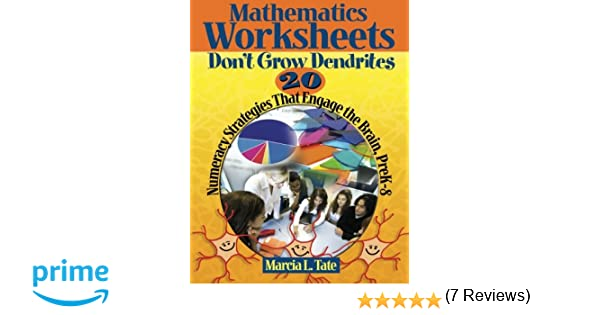 Counting Number worksheets math picture worksheets : Amazon.com: Mathematics Worksheets Don't Grow Dendrites: 20 ...