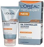 L'Oreal Men's Expert Oil Controller Moisturizer,  1.7-Ounce Tubes  (Pack of 3)