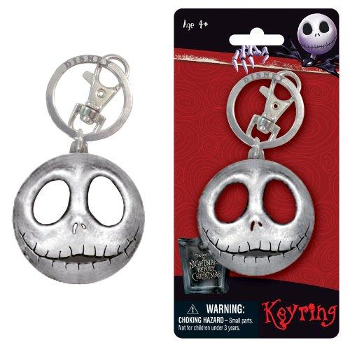 Disney Jack Head Pewter Key Ring