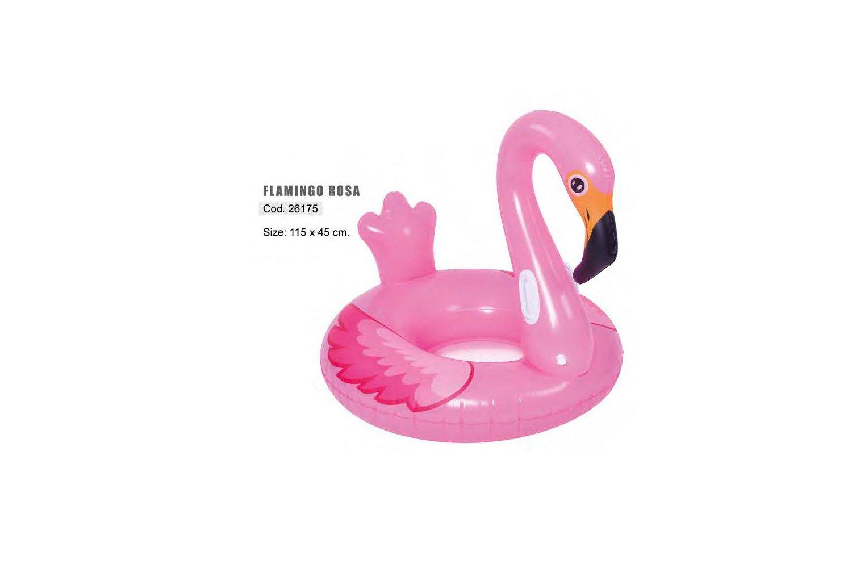 Safari Sub Circular Flamingo Rosa Hinchable (115x115 ...