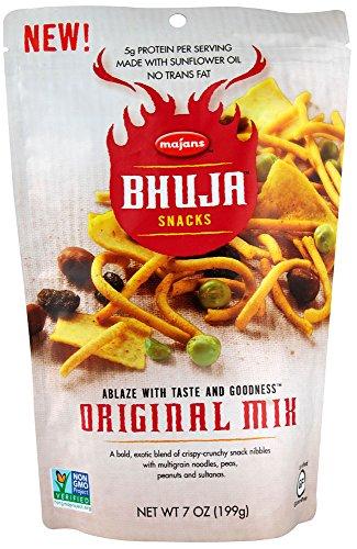 Bhuja Original Mix - Bhuja Snacks Original Mix Gluten Free -- 7 oz