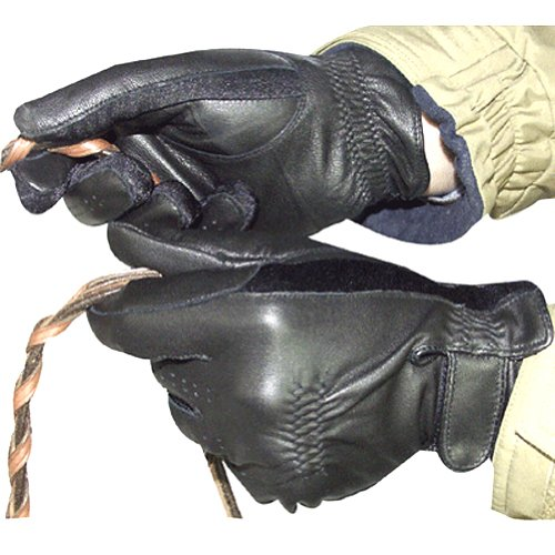 Intrepid International Classic Leather Show Glove, Large