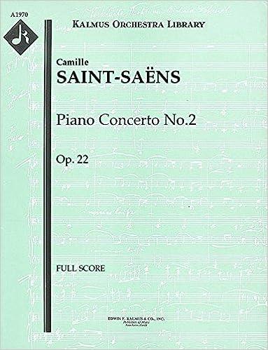 Piano Concerto No.2, Op.22: Full Score [A1970]