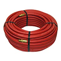 Red Rubber Air Hose 100 Ft x 3/8 Inch