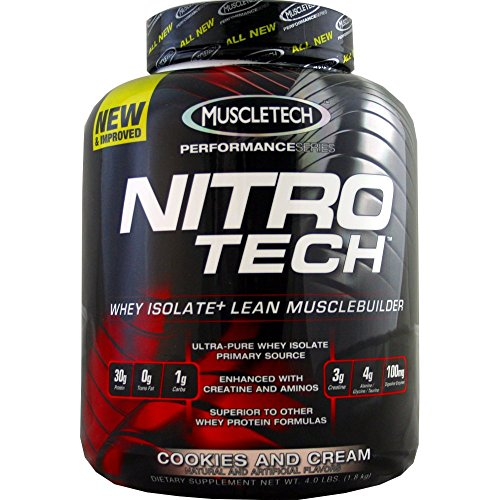 Nitro Tech, Perfect, Cookie& Cr, 4 lb ( - Nitro Cookies Tech